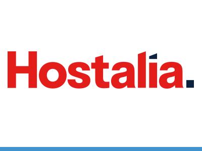 Logotipo Hostalia